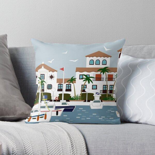 Puerto De La Duquesa Throw Pillow