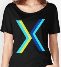Hypnotzd Abstract X Women's Relaxed Fit T-Shirt