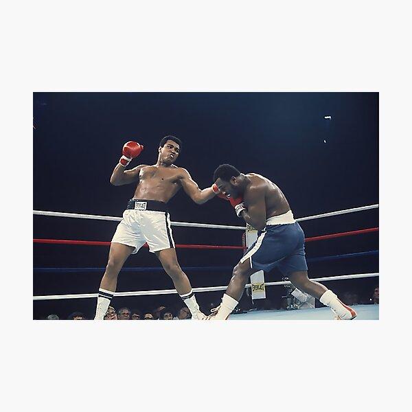 Muhammad Ali - Thrilla in Manilla Photographic Print