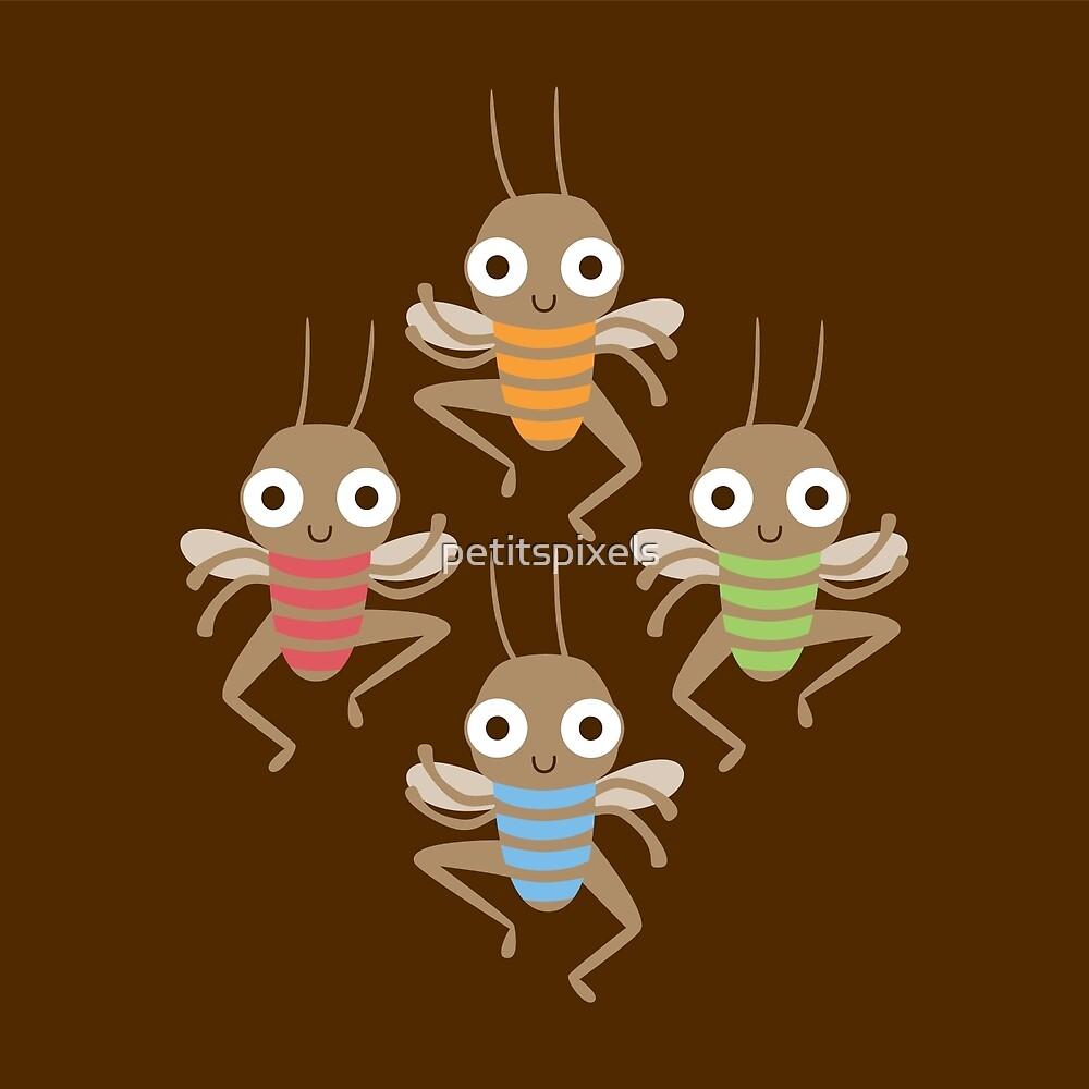 Dancing crickets by petitspixels