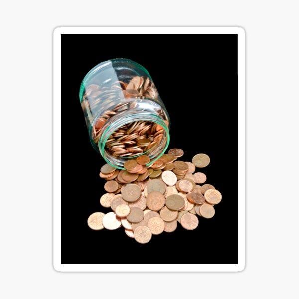Little money Sticker