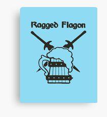 Skyrim - Ragged Flagon Emblem  Canvas Print