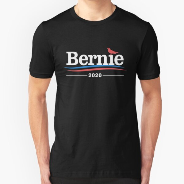 Bernie Sanders 2020 Bird Slim Fit T-Shirt