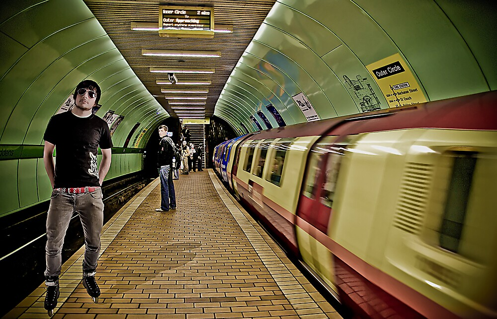 Down in the Tube Station at Midnight  by Tony Wilkinson