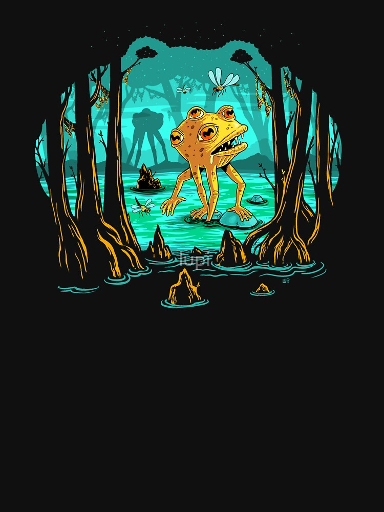Magical Mutant Frog Swamp by lupi