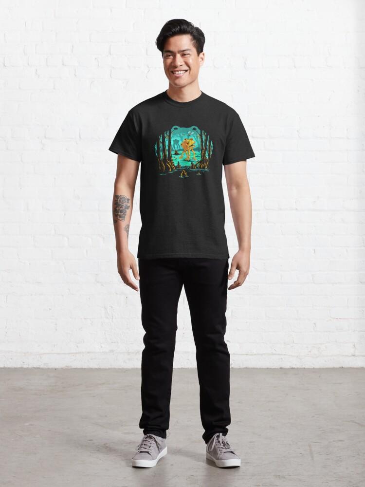 Alternate view of Magical Mutant Frog Swamp Classic T-Shirt