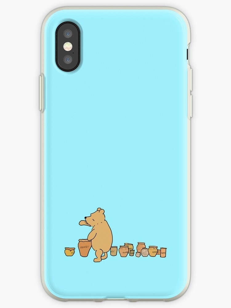 low priced 84078 0fa88 'Winnie The Pooh' iPhone Case by Georgina Collins