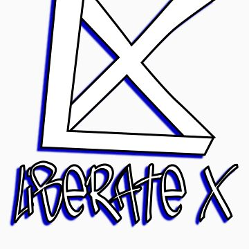 liberate x clothing co (white/blue) by jnewton5