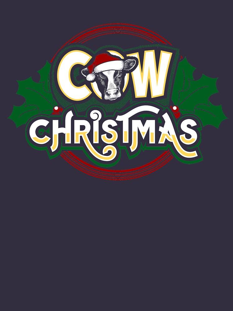Cow Christmas by Katnovations