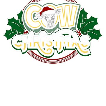 Cow Christmas by Katnovations