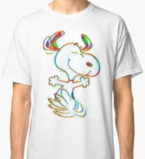 Colorful Snoopy Classic T-Shirt