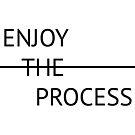 Enjoy the process by Bello Designs