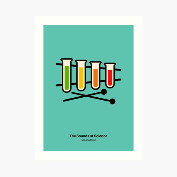 The Sounds of Science Art Print