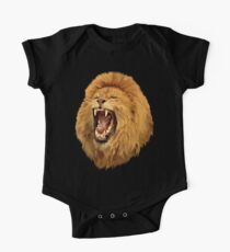 Lion Roar Digital art One Piece - Short Sleeve
