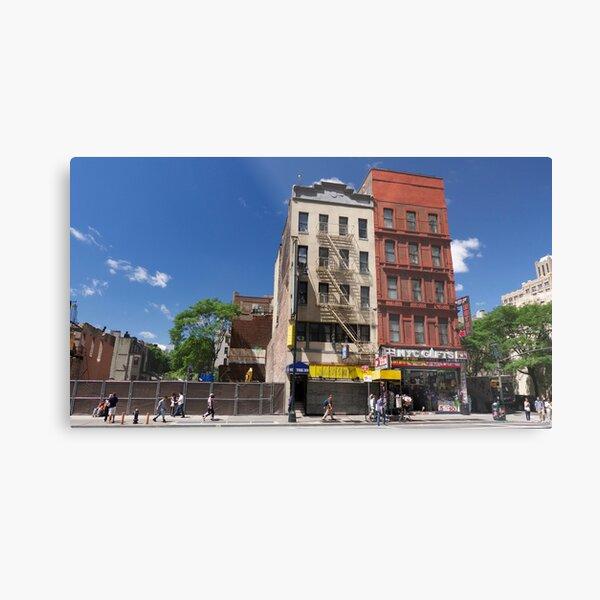 Red Hotel, New York City Metal Print
