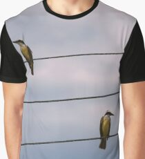 Birds on wires Graphic T-Shirt