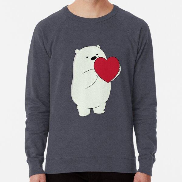 We Bare Bears Ice Bear Lightweight Sweatshirt