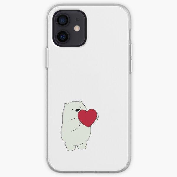 We Bare Bears Ice Bear iPhone Soft Case