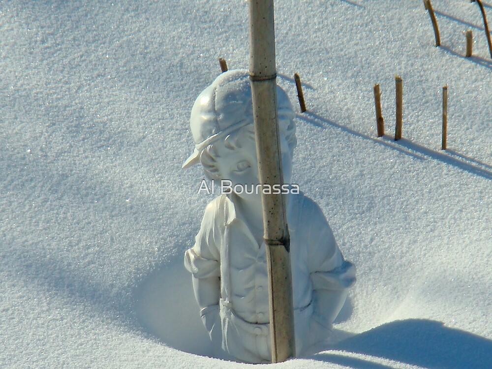 Snow Is Deep by Al Bourassa