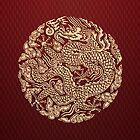 Gold Dragon shenlong by Dadang Lugu Mara Perdana