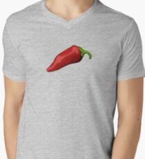Peppers Men's V-Neck T-Shirt