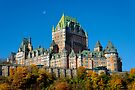 View of Le Chateau Frontenac, Quebec City by Stephen Beattie
