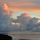 Palau Sunset by Ran Richards