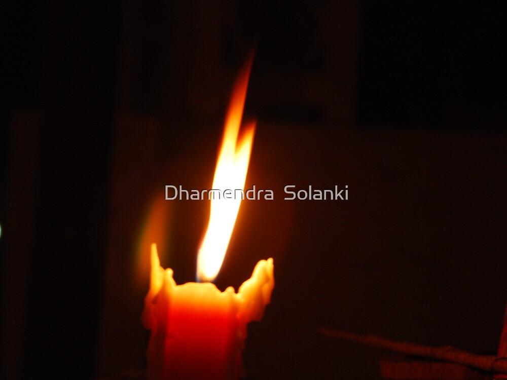 Candel light.1 by Dharmendra  Solanki