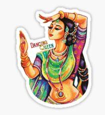 Indian Dancing Queen Sticker