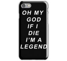 Legend [White] iPhone Case/Skin
