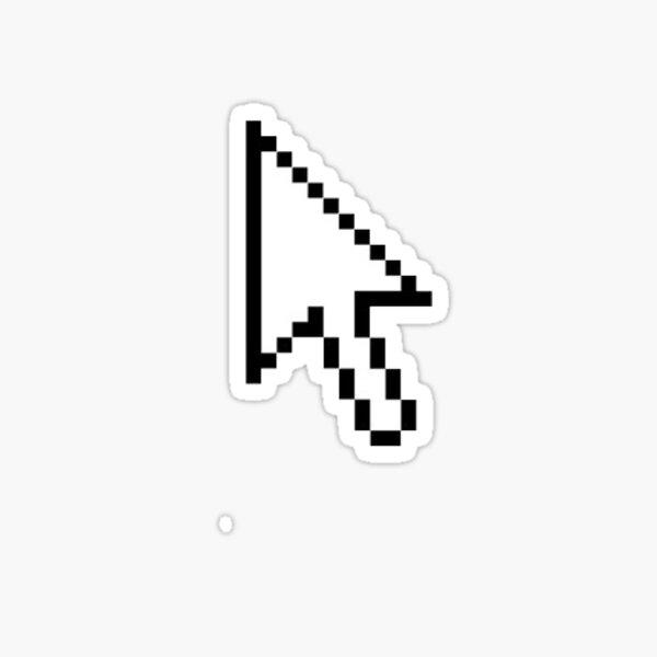 arrow cursor Sticker