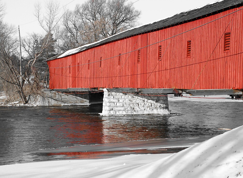 Covered Bridge by Kelly Connolly