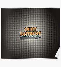 Saint-Eustache, Québec   Retro Stripes Poster