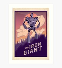 The Iron Giant Art Print