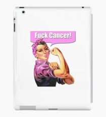 Fuck Cancer! iPad Case/Skin