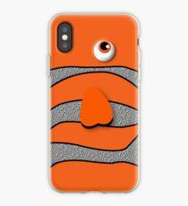 Orange ornamental fish cartoons iPhone Case