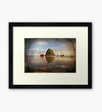 The Pirates of Cannon Beach Framed Print