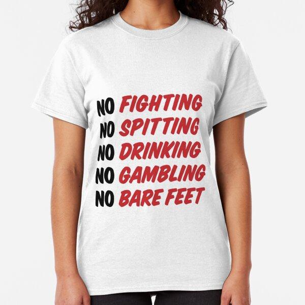 Caddyshack Rules Sign Classic T-Shirt
