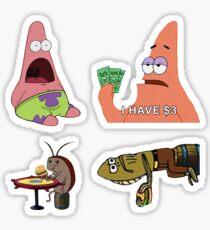 Spongebob Multiple Stickers Sticker