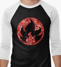 Fire Energy Men's Baseball ¾ T-Shirt