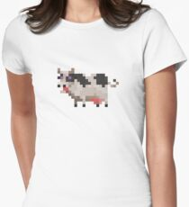 Cow Women's Fitted T-Shirt