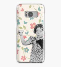 Shirley Temple Tea Time Samsung Galaxy Case/Skin