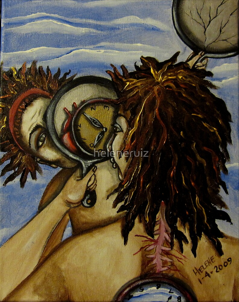 Face to Face with Time by helene ruiz