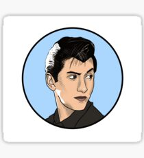 Alex Turner Illustration Sticker