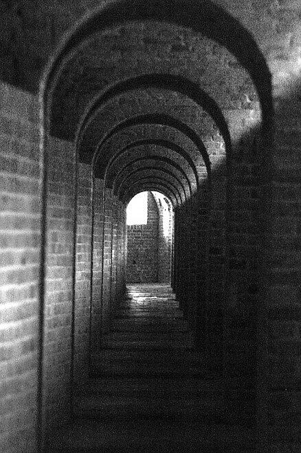 Fort Barrancas Hallway by Dennis Blauer