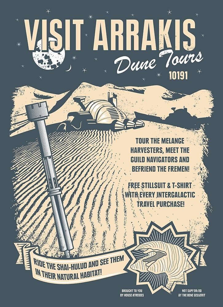 Visit Arrakis by heavyhand