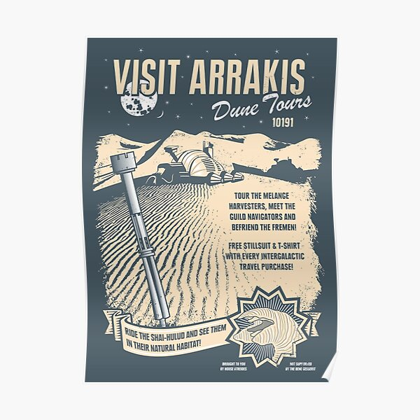Visit Arrakis Poster