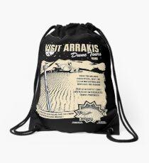 Visit Arrakis Drawstring Bag