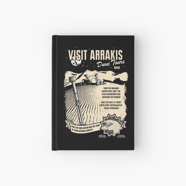 Visit Arrakis Hardcover Journal