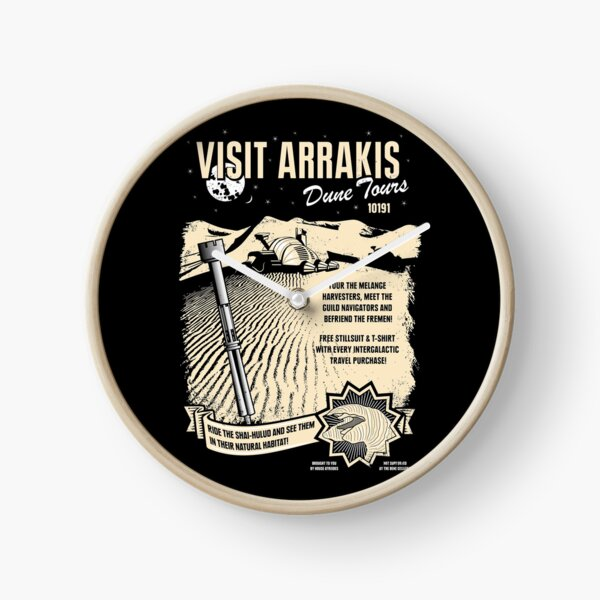 Visit Arrakis Clock